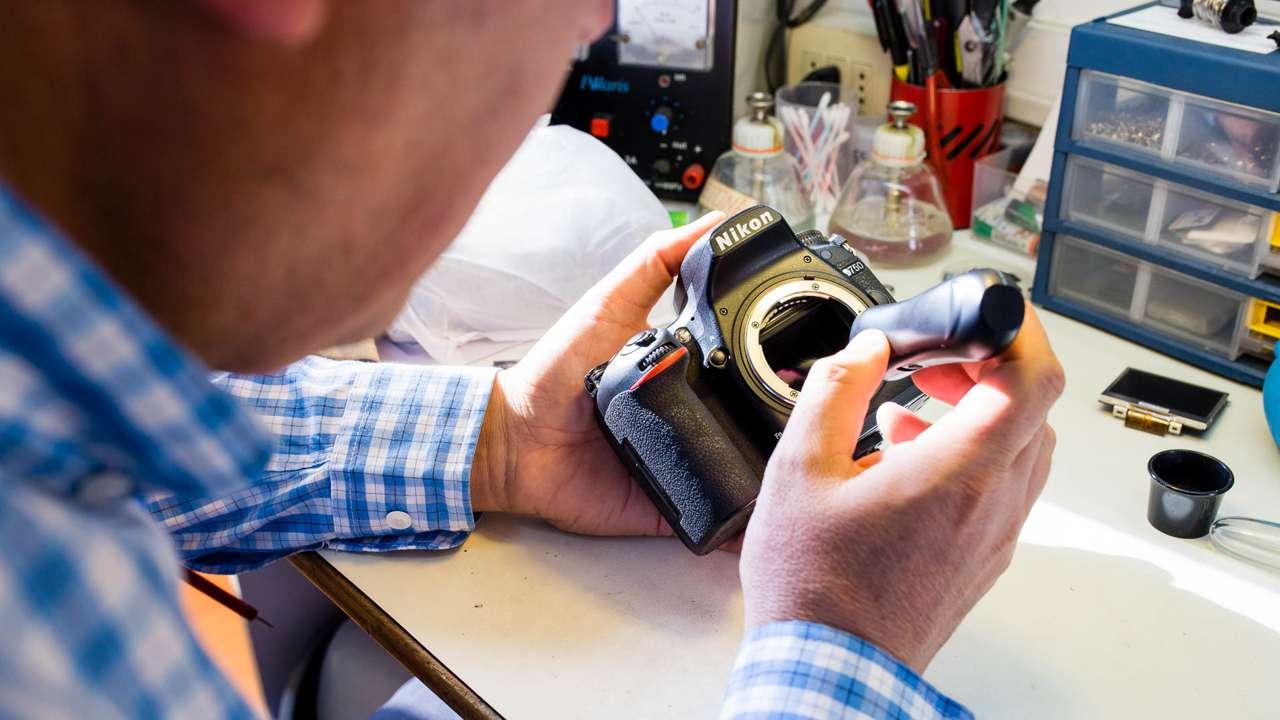 Resultado de imagen para mantenimiento y reparacion de camaras fotograficas